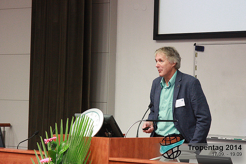 Dr Richard Hall at Tropentag 2014